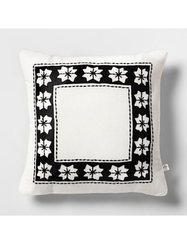 Throw Pillow   White Nordic Star   Hearth & Hand™ With Magnolia by Hearth & Hand With Magnolia