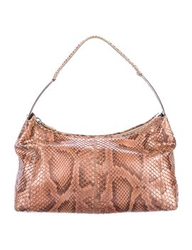 Small Python Shoulder Bag by Tod's