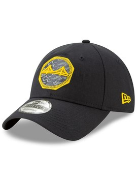 Golden State Warriors New Era 2018 City Edition 9 Twenty Adjustable Hat – Black by New Era