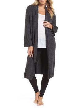 Cozy Chic® Lite Cross Creek Long Cardigan by Barefoot Dreams®
