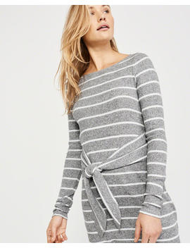 Cozy Tie Front Dress by Abercrombie & Fitch