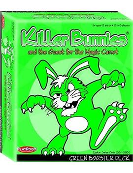 Playroom Entertainment Killer Bunnies Green Booster by Amazon