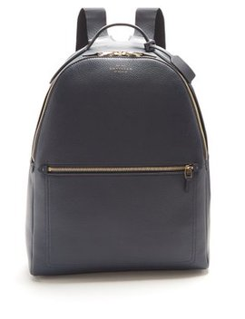 Burlington Leather Backpack by Smythson