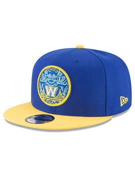 Golden State Warriors New Era Nba City Series Original Fit 9 Fifty Snapback Adjustable Hat – Royal by New Era