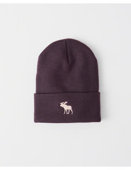 Icon Turn Up Beanie by Abercrombie & Fitch
