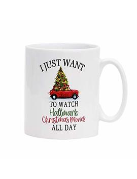 Christmas Mugs Christmas Tree And Car Coffee Mug This Is My Hallmark Christmas Movie Watching Mug Coffee Mugs For Christmas Gift Brithday Gift Or Daily Use by Sunmner