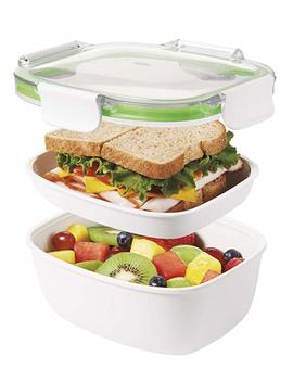 Oxo Good Grips On The Go Lunch Container, Green by Amazon