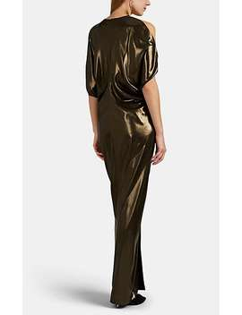 Miu Metallic Gown by Zero + Maria Cornejo