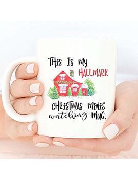 Hallmark Movies, Hallmark Christmas Mug, Movies Hallmark Christmas Christmas Mug, Christmas Gift, Dirty Santa Gift, Christmas Gift, Santa Mug, Office, Coworker Gift by Goo Kit