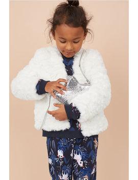 Faux Fur Cardigan by H&M