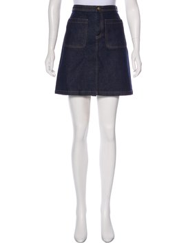 Denim Mini Skirt by A.P.C.