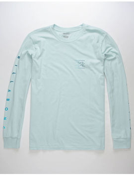 Billabong Unity Sleeves Light Blue Mens T Shirt by Billabong