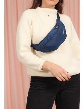 Vintage 90s Blue Nylon Bum Bag by Dirty Disco