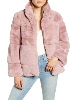 Sarah Faux Fur Coat by Apparis