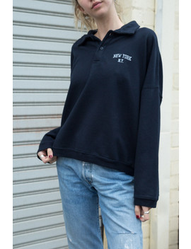 Archer New York Sweatshirt by Brandy Melville