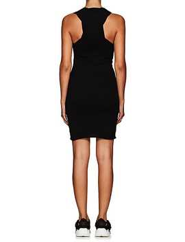 Twist Side Cotton Fitted Tank Dress by Alexanderwang.T
