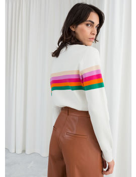Rainbow Stripe Pullover by & Other Stories