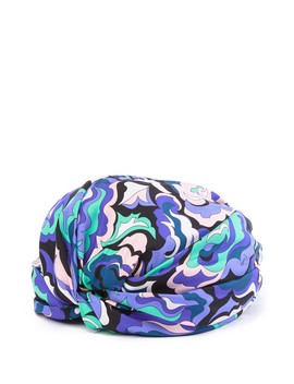Pop Art Silk Turban by Emilio Pucci