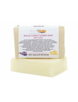 1x Solid Conditioner Bar For Dry Hair, 95g, Handmade And Economical by Funky Soap