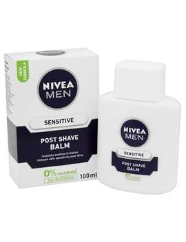 Nivea Men Sensitive Post Shave Balm With 0 Percents Alcohol, 100ml by Nivea