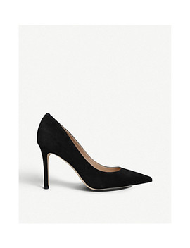 Hazel Suede Court Shoes by Sam Edelman
