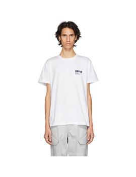 T Shirt à Logo Blanc by Affix