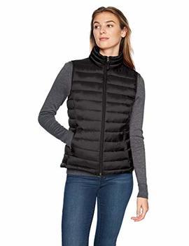 Amazon Essentials Women's Lightweight Water Resistant Packable Puffer Vest by Amazon+Essentials