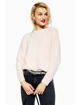 Super Soft Ribbed Jumper by Topshop