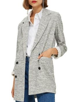 Long Sleeve Slouch Coat by Topshop