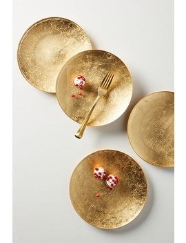 Reign Dessert Plates, Set Of 4 by Anthropologie