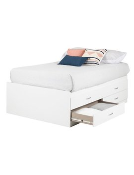 South Shore So Ho Full Captain Bed (54'') With 4 Drawers, Multiple Finishes by South Shore Furniture