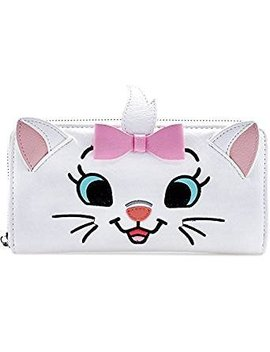 Loungefly X Disney Aristocats Marie Big Face Zip Around Wallet by Loungefly