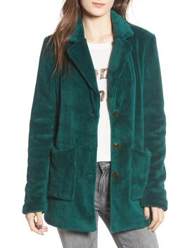 Plush Fleece Coat by Bp.