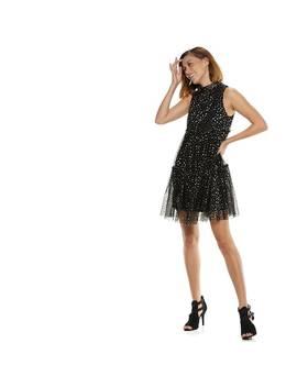 Women's Popsugar Metallic Star Tiered Party Dress by Kohl's