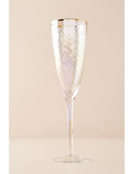 Lustered Flutes, Set Of 4 by Anthropologie