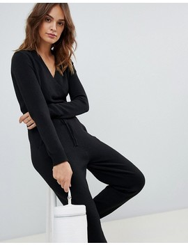 "<Font Style=""Vertical Align: Inherit;""><Font Style=""Vertical Align: Inherit;"">Micha Lounge   Jumpsuit With Wrapped Front</Font></Font> by  Micha Lounge"