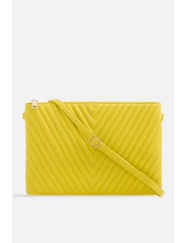 **Quilted Zipper Clutch Bag By Koko Couture by Topshop