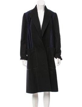 Longline Wool Coat by Edun