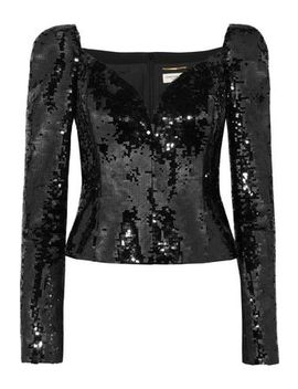 Sequined Top by Saint Laurent