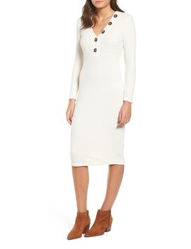 Rib Knit Dress by All In Favor
