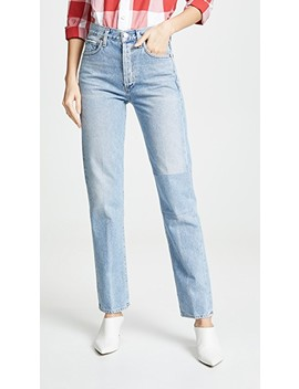 Campbell High Rise Relaxed Straight Jeans by Citizens Of Humanity