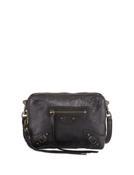 Classic Reporter Xs Lamb Leather Crossbody Bag by Neiman Marcus