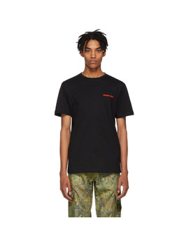 Black 'to Hell And Back' T Shirt by Resort Corps