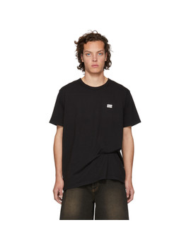 Black Price Tag T Shirt by Bianca Chandon