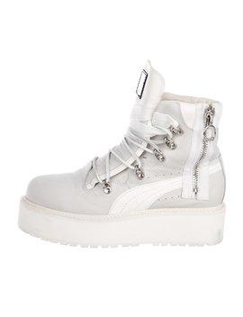 Sb White Rihanna Boots by Fenty X Puma