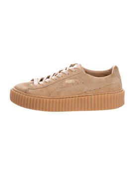 Suede Creeper Sneakers by Fenty X Puma