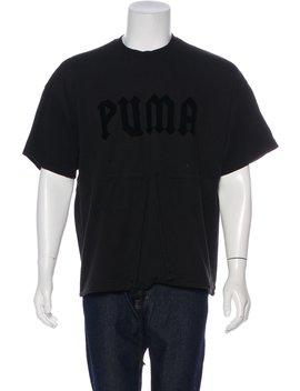 Woven Logo Shirt by Fenty X Puma