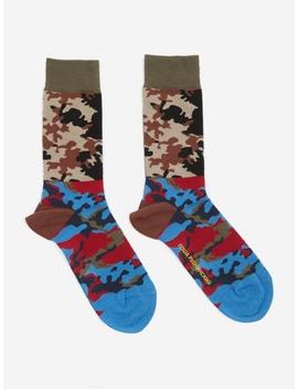 Camo Combo Socks   Combo 2 by Gosha Rubchinskiy