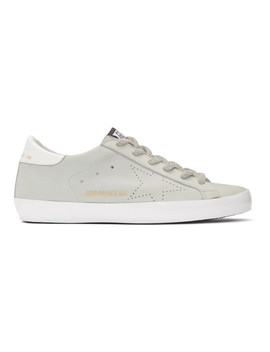 Ssense Exclusive White Sunday Superstar Sneakers by Golden Goose