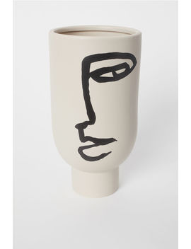 Tall Vase With A Motif by H&M